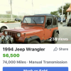 Jeep wrangler offer Off Road Vehicle