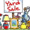 Yard Sale  offer Garage and Moving Sale