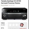Yamaha CX-a5100 Receiver offer Computers and Electronics