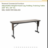 Norwood adjustable training table  offer Business and Franchise