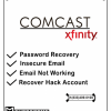 Recover Comcast Email Account? offer Web Services