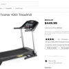Gold's Gym Home Treadmill