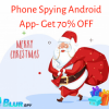 Christmas Discount Offer 90% On BlurSPY Phone Spying App offer Service Wanted