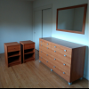 FREE: Dresser, 2 Nightstands, Wall Mirror offer Home and Furnitures