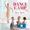 Summer Dance Camp Ages 3 - 9yrs  offer Classes