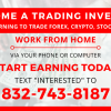 *** LEARN HOW TO TRADE FOREX, CRYPTOCURRENCY, STICK ETC. FROM HOME *** offer Professional Services